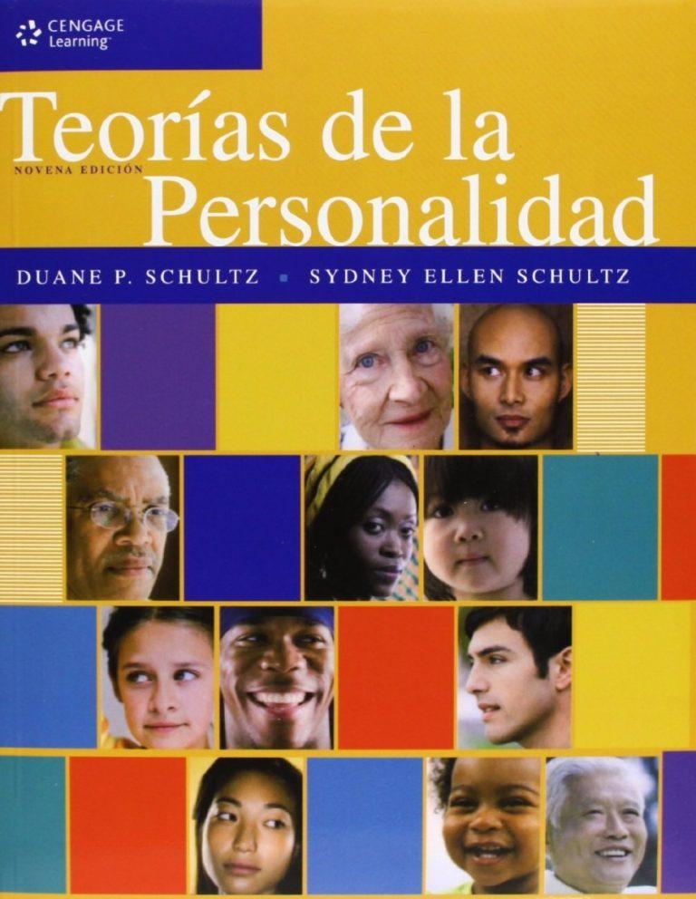Teorías de la personalidad Schultz pdf