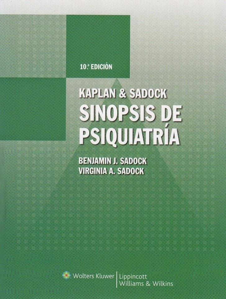 Sinopsis de Psiquiatría de Kaplan y Sadock (PDF)