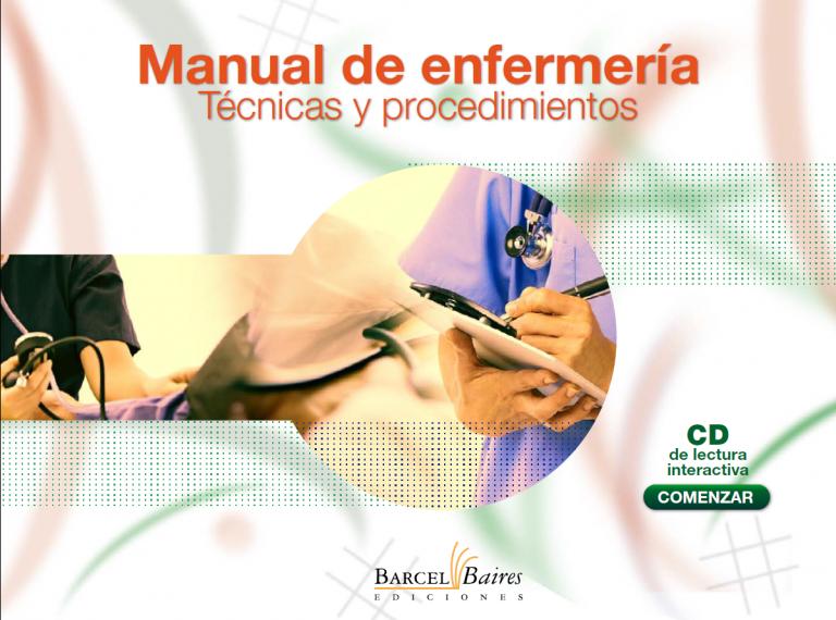 MANUAL DE ENFERMERÍA TÉCNICAS Y PROCEDIMIENTOS