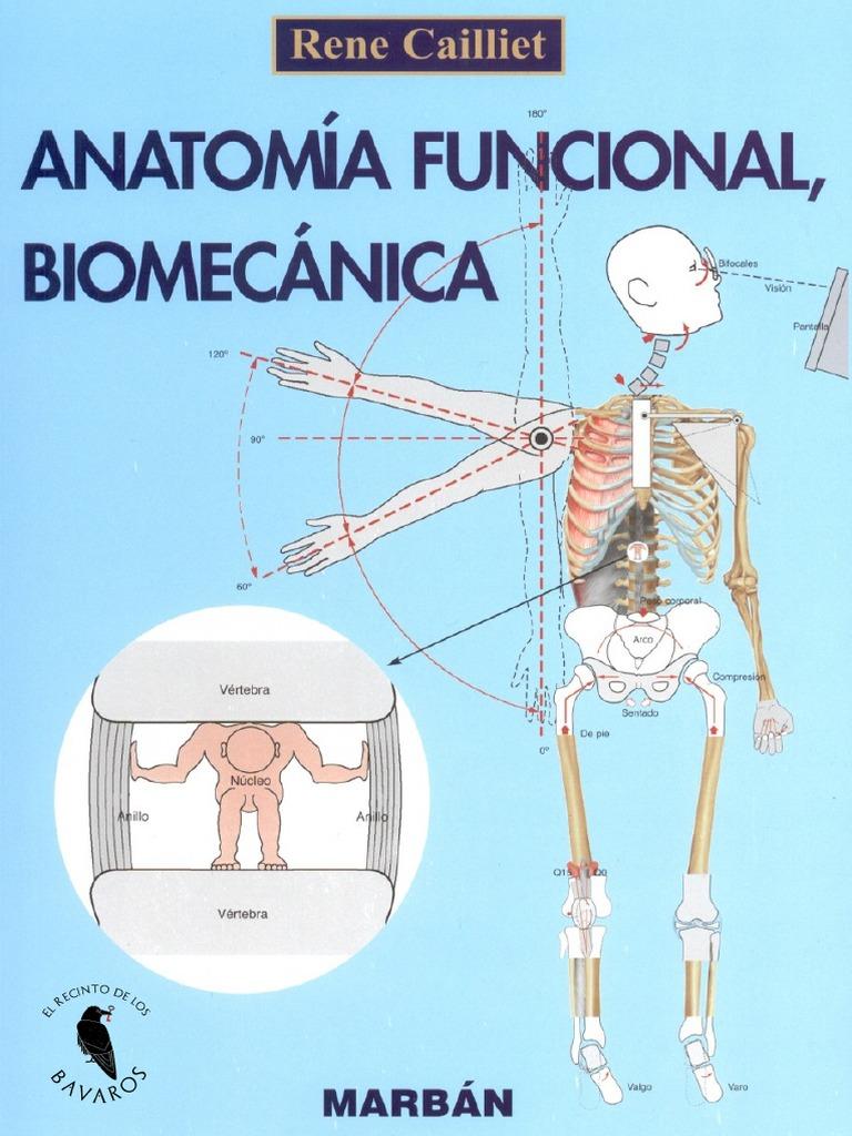 Anatomía funcional biomecanica (Cailliet)