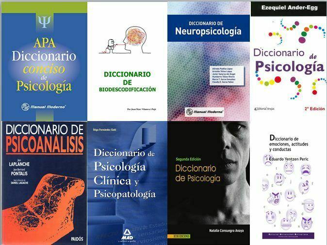 Diccionarios de psicologia (Pack completo)
