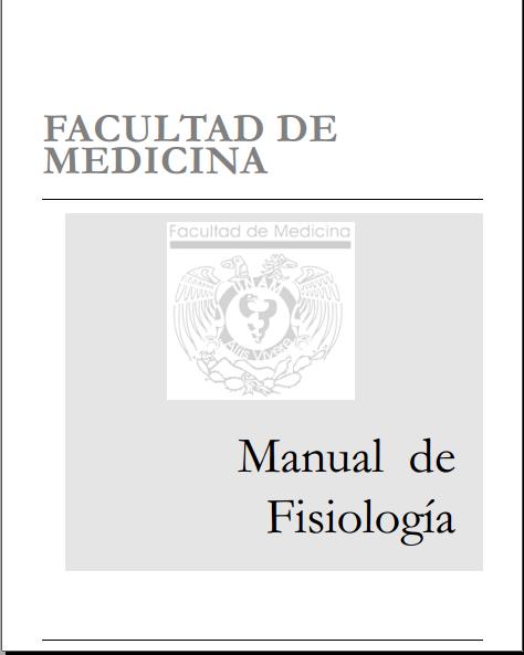 Manual de fisiologia (UNAM)