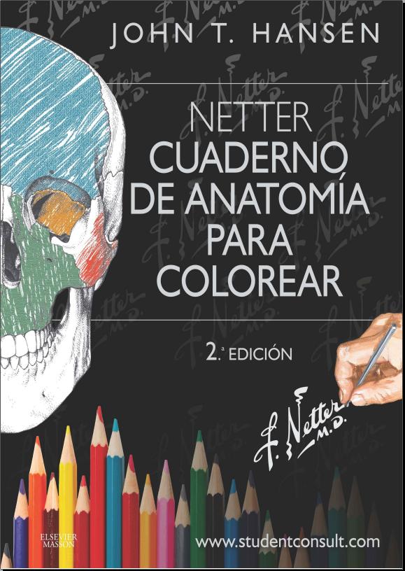 Anatomía para colorear 2º ed. (Netter)
