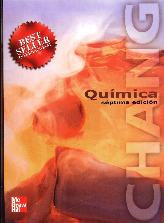 QUÍMICA DE CHANG 7ma EDICIÓN