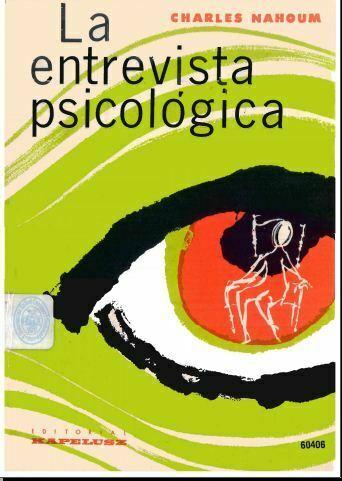 La Entrevista Psicológica (Nahoum Charles) PDF