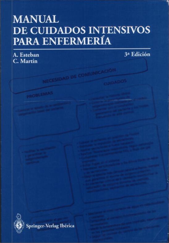 Manual de cuidados intensivos para enfermeria