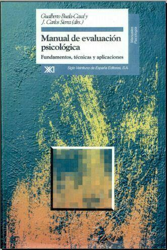Manual de evaluación psicológica (Buela Casal) PDF